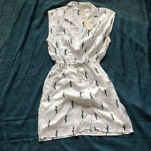 Japna Cactus Shirt Dress
